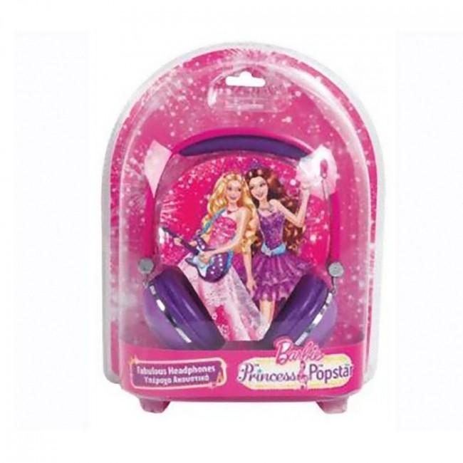 """Дитячі навушники Barbie """"Принцеса і поп-зірка"""""""