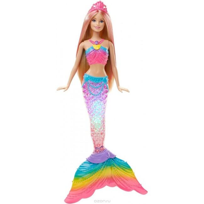 """Лялька Barbie Русалочка """"Яскраві вогники"""""""