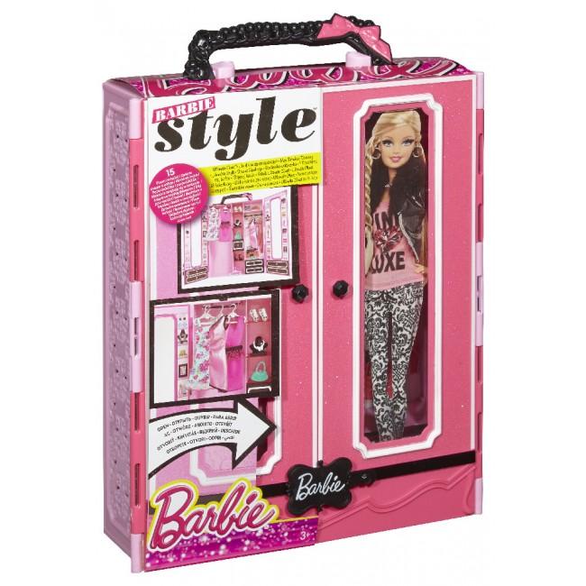 Шафа-валіза для одягу Barbie BMB99 e7737a74e8746
