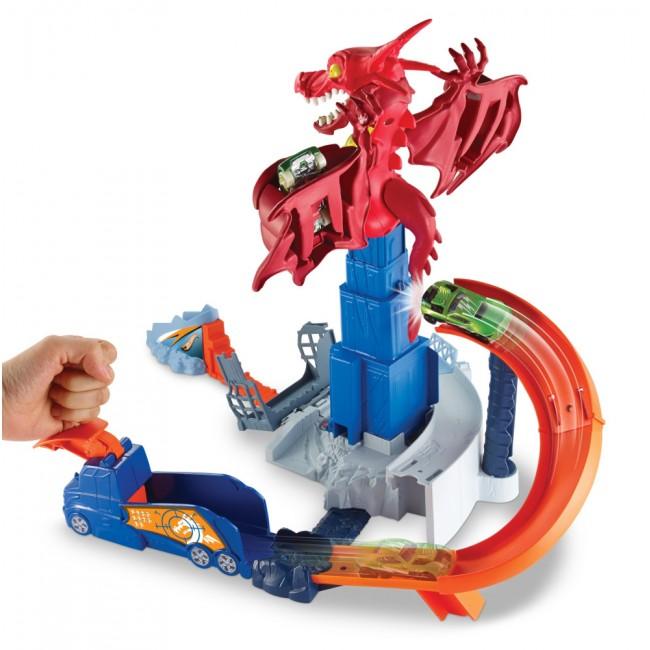"Ігровий набір ""Атака дракона"" Hot Wheels"
