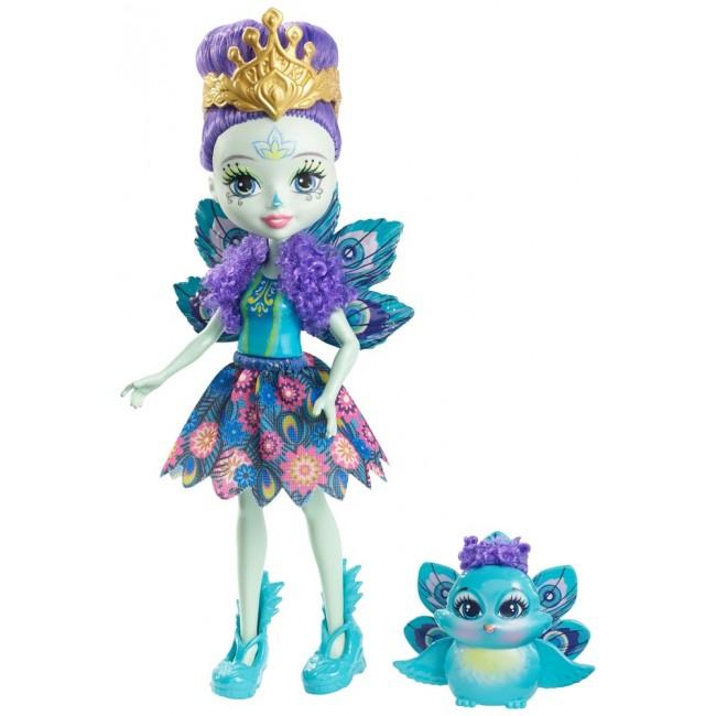 "Лялька Enchantimals ""Пава Петтер"""