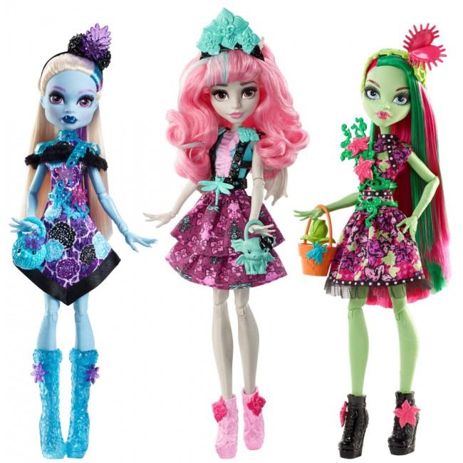 "Лялька ""Квіткова вечірка"" Monster High в ас.(3)"