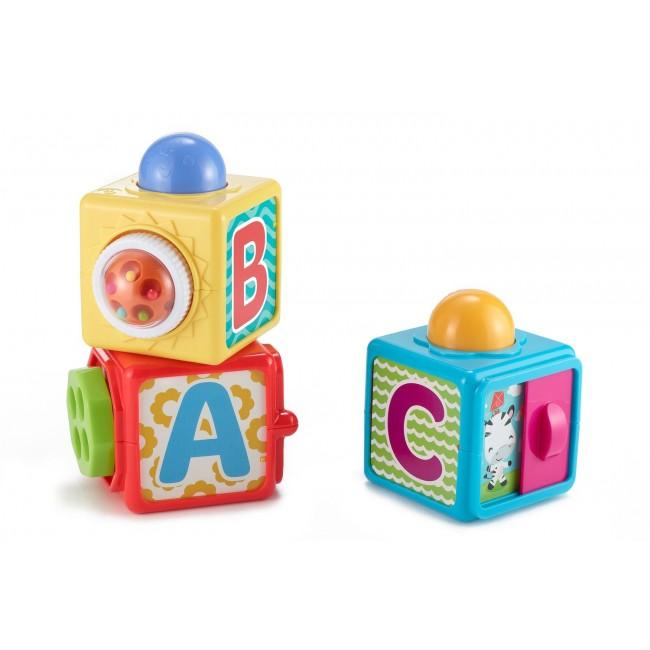 """Кубики, що рухаються """"Яскраві"""" Fisher-Price"""