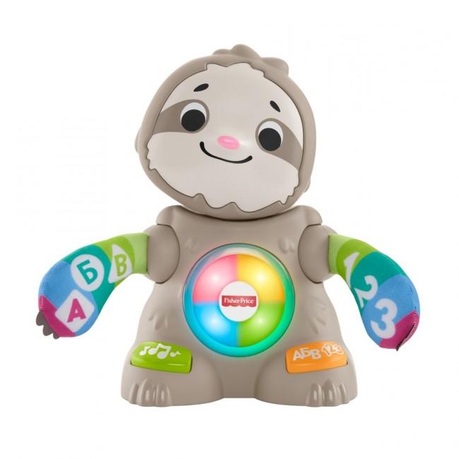 """Інтерактивна іграшка """"Танцюючий лінивець"""" серії Linkimals (рос.) Fisher-Price"""