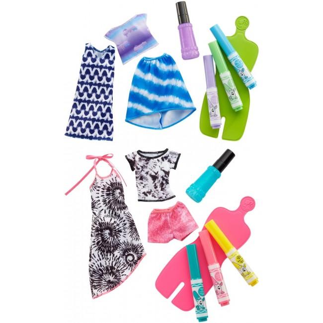 """Набір одягу Barbie x Crayola """"Спеціальна техніка"""", в ас.(2)"""