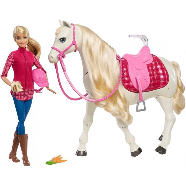 """Картинки по запросу Набір """"Barbie вершниця та танцююча конячка"""""""