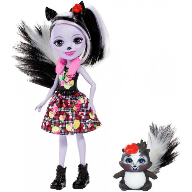 "Лялька Enchantimals ""Скунсик Сейдж"" оновл."