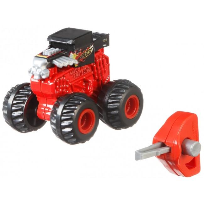 """Машинка-позашляховик в особливій упаковці серії """"Monster Trucks"""" Hot Wheels (в ас.)"""