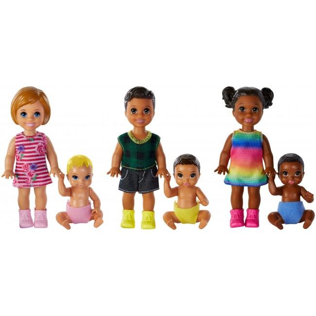 """Ляльки Barbie """"Брати і сестри"""" серії """"Догляд за малюками"""" (в ас.)"""