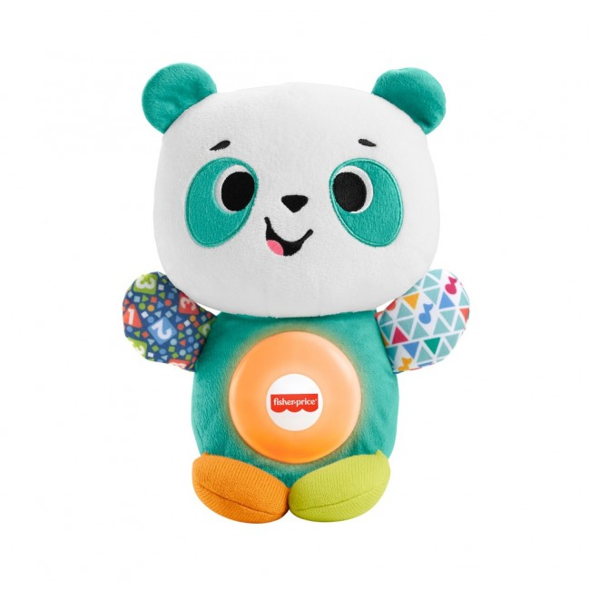 """М'яка інтерактивна іграшка """"Весела панда"""" серії Linkimals (рос.) Fisher-Price"""