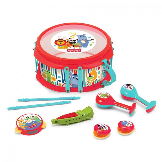 """Дитячий набір музичних інструментів Fisher-Price """"Тропічний ліс"""""""