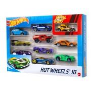 Автомобіль базовий Hot Wheels 10 шт.