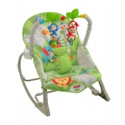 """Масажне крісло-гойдалка """"Веселі мавпочки"""" (до 18 кг) Fisher-Price"""