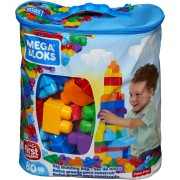 Конструктор класичний у мішку (80 дет.) Mega Bloks
