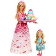 """Ігровий набір з лялькою Barbie """"Чайна вечірка принцеси"""", серії """"Дрімтопія"""""""