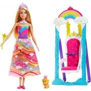 "Набір з лялькою Barbie ""Райдужна гойдалка"""