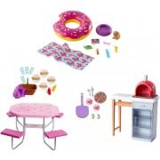 Набір меблів та аксесуарів для відпочинку на природі Barbie (в ас.)