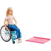 Лялька у кріслі-візку Barbie