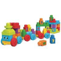 """Конструктор """"Поїзд із цифрами"""" Mega Bloks"""