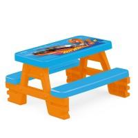 Дитячий столик для пікніка для 4-х Hot Wheels