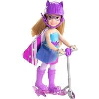 """Лялька Челсі з самокатом в ас. з м/ф """"Barbie Суперпринцеса"""""""