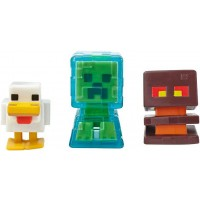 Набір з 3-х міні-фігурок Minecraft