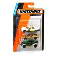 Подарунковий набір автомобілей Matchbox (3 шт.) (в ас.)