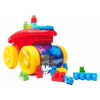"Візок-каталка ""Збираймо кубики"" Mega Bloks"