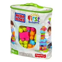 Конструктор ультрамодний у мішку (60 дет.) Mega Bloks