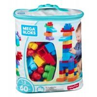 Конструктор класичний у мішку (60 дет.) Mega Bloks