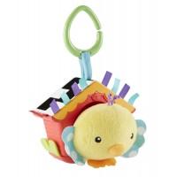 """М'яка іграшка - підвіска """"Пташеня у шпаківні"""" Fisher-Price"""