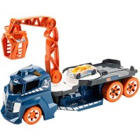 Вантажівка з краном зі звуковими та світловими ефектами Hot Wheels