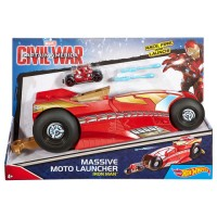 Пускач для мотоцикла Marvel Hot Wheels (в ас.)