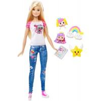 """Барбі з реального світу з м/ф """"Barbie: Віртуальний світ"""""""