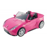 Блискучий кабріолет Barbie