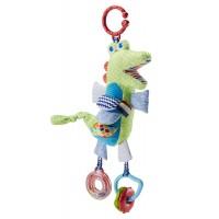 """М'яка іграшка-підвіска """"Крокодил"""" Fisher-Price"""
