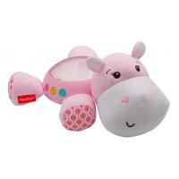 """Музичний нічник-проектор """"Рожевий гіпопотам"""" Fisher-Price"""