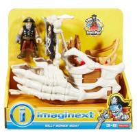 """Ігровий набір """"Корабель-морське чудовисько"""" Imaginext (в ас.)"""