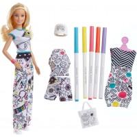 "Набір Barbie x Crayola ""Розмальовка одягу"""