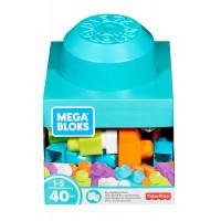 """Конструктор """"Великий кубик"""" (40 деталей) Mega Bloks"""