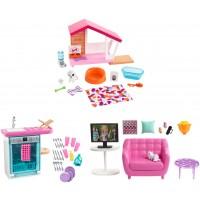 Набір меблів та аксесуарів для дому Barbie (в ас.)
