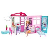 Портативний будиночок Barbie з лялькою (оновл.)