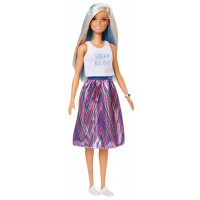 """Лялька """"Модниця"""" з блакитними прядками Barbie"""