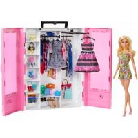 Шафа-валіза для одягу Barbie