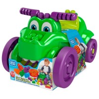 """Машинка-крокодил """"Катайся та збирай кубики"""" Mega Bloks"""