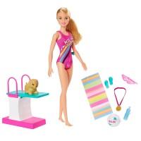 """Ігровий набір """"Тренування в басейні"""" Barbie"""