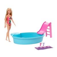 """Ігровий набір """"Розваги біля басейну"""" Barbie"""