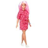 """Лялька Barbie """"Модниця"""" у червоній сукні в огірки"""