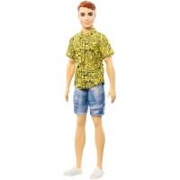 """Лялька Кен """"Модник"""" в жовтій сорочці Barbie"""