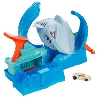 """Ігровий набір """"Голодна Акула-робот"""" серії """"Зміни колір"""" Hot Wheels"""